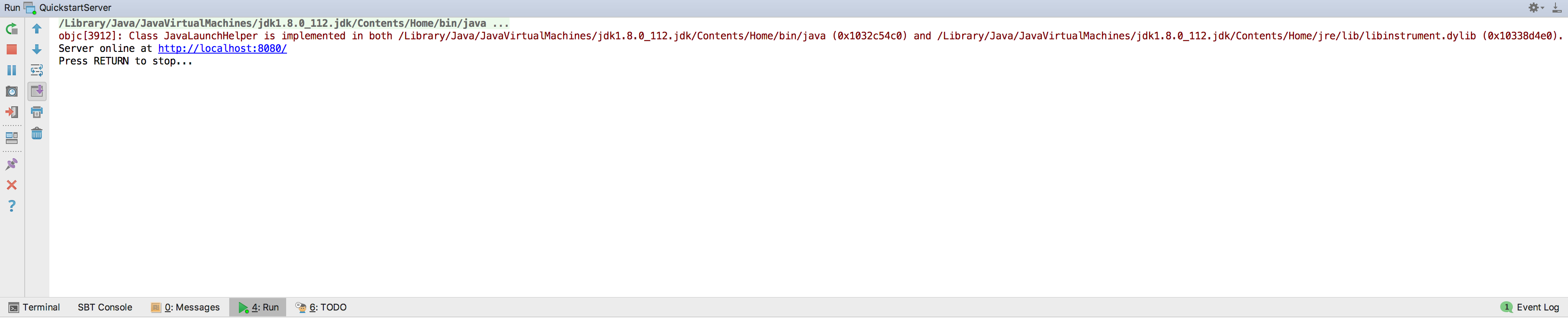 IntelliJ IDEA · Akka HTTP Quickstart for Scala · Lightbend Tech Hub